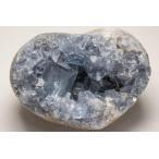 天然セレスタイト原石 638g ジオード 晶洞 ドーム パワーストーン ブレス...