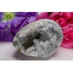 天然セレスタイト原石 551g ジオード 晶洞 ドーム パワーストーン 天然石