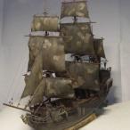 黒真珠 木製船 1/96スケール 船 帆船 ボート ヨット 木製 模型 モデルキット プラモデル キット 組み立て式 *