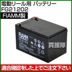 FIAMM 電動リール用 バッテリー FG21202