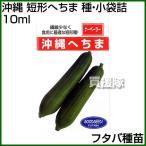 フタバ種苗 うちな〜交配 沖縄 短形へちま 種・小袋詰 10ml