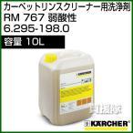 ケルヒャー カーペットリンスクリーナー用洗浄剤 RM 767 内容量10L - No6.295-198.0