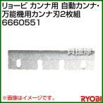 リョービ カンナ用 自動カンナ・万能機用カンナ刃2枚組 6660551