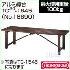 長谷川工業 アルミ縁台 TG2.0-1845 No.16890