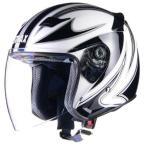 SJ9 ジェットヘルメット | WH ヘルメット バイク バイク用品 スポーティー 熱 エアフローシステム 洗浄 ホワイト 白