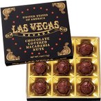10%OFFクーポン アメリカ お土産 アメリカ土産 ギフト ラスベガス ミニマカデミアナッツチョコレート 1箱 食品 菓子 スイーツ チョコレート ナッツ ID:77720104