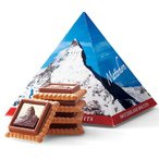 スイスお土産 スイスデリス マッターホルンチョコビスケット1箱 ID:E7050289