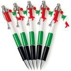 イタリア お土産 イタリア国旗 ボールペン 5本セット 実用品 文房具 筆記用具 ID:77710117