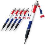 フランス お土産 フランス土産 ギフト フランス国旗 ボールペン5本セット 実用品 文房具 筆記用具 ID:80650614