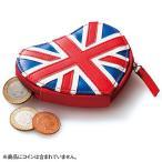 イギリス お土産 ハート型 コインパースユニオンジャック ID:E7052020