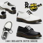 ドクターマーチン 国内正規品 ハート レディース 1461 HEARTS 3EYE SHOE ハーツ 3ホール シューズ Dr.Martens 26682001 26682100