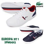 LACOSTE/ラコステ/SPM-0012 042/092/EUROPA 317 1/エウロパ 317 1/メンズ スニーカー レースアップシューズ 運動靴 紐靴 ローカット カジュアル シンプル 通学