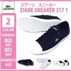 LACOSTE/ラコステ/CAW0064 003/001/ZIANE SNEAKER 317 1/ジアーン スニーカー 317 1/レディース スニーカー レースアップシューズ 運動靴 紐靴 ローカット カジ