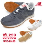 �˥塼�Х�� new balance ��ǥ����� ���ˡ����� WL220 VN VS VW