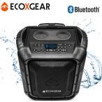 防水スピーカー Bluetooth 屋外使用OK 雨 雪 ECOXGEAR GDI-EXBLD810 EcoBoulder IP67 キャスター ラジオ 100W アウトドア 50時間再生 スマホ充電 GDIEXBLD810