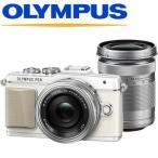 あすつく デジタル一眼レフカメラ OLYMPUS オリンパス ミラーレス PEN Lite E-PL7 EZダブルズーム PEN EPL7 EZダブルズーム ホワイト