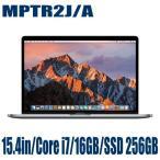 Apple MPTR2J/A ノートパソコン アップル MacBookPro 2800/15.4 スペースグレイ 15.4インチ Retinaディスプレイモデル マックブックプロ MPTR2JA