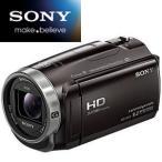 【新品】SONY デジタルビデオカメラ ハンディカム デジタルHD 32GB HDR-CX675-T ボルドーブラウン