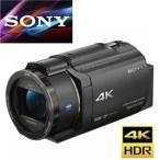 デジタルビデオカメラ 新品 ソニー FDR-AX40-B デジタル4Kビデオカメラレコーダー ハンディカム ブラック 黒 ax40B