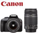 【新品】CANON EOS Kiss X7 ダブルズームキット デジタル一眼レフカメラ 1800万画素 連写撮影:4コマ/秒  EOSKISSX7 デジカメ