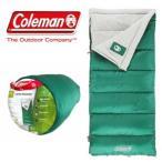 あすつく コールマン 寝袋 封筒型 洗える! Coleman スリーピングバック ASPEN MEADOWS アスペン メドウ SLEEPING BAG 耐寒4.4度対応  レクタングラー型