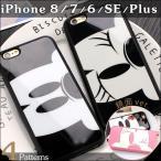 Mickey & Minnie 鏡面 iPhone8 Plus iPhone7 Disney ディズニー iPhone6s 5s SE ケース カバー スマホケース アイフォン7 ミッキー ミニー キャラクター