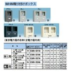 Panasonic 電設資材 住宅分電盤・分電盤 WHM取り付けボックス BQKN8321A