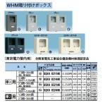 Panasonic 電設資材 住宅分電盤・分電盤 WHM取り付けボックス BQKN8321HK