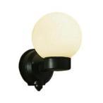 DWP-37260 LEDアウトドアライト ポーチ灯 人感センサー付 ON/OFFI 防雨形 電球色 非調光 白熱灯60W相当 大光電機 照明器具 玄関 勝手口用 デザイン照明