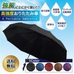 折りたたみ傘 大きい メンズ 自動開閉 ワンタッチ 晴雨兼用 頑丈 丈夫 大きいサイズ