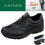 メンズシューズ、紳士靴 ウォーキングシューズ 靴 メンズ スニーカー 4E 黒 ウォーキングシューズ ストレッチ 履きやすい 滑りにくい ゲイナー003