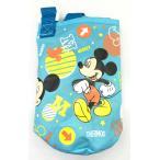 サーモス 真空断熱ストローボトル FHL-400Fポーチ ライトブルー LB ミッキーマウス柄  本品は水筒の部品 カバーのみお届け となります