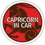 CAPRICORN IN CAR オシャレでかわいいステッカー 誕生日プレゼントにも(Capricorn/カプリコーン/やぎ座) 山羊座