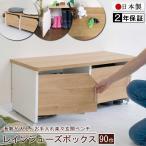 レインシューズボックス 90巾 日本製 組立品 長靴 玄関ベンチ 長椅子 スニーカー サンダル収納 高さ調整 LB-903