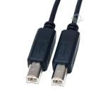 変換名人 USB 両端 B オス  ケーブル   20cm   USBBA-BA20