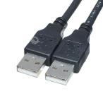 COMONカモン USB2.0 ケーブル A-Aタイプ 0.15m 黒 2AA-015