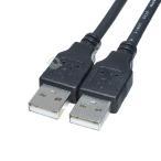 USBケーブル 1.8m USB2.0Aタイプ(オス)-USB2.0Aタイプ(オス)  USBハブ 周辺機器接続等 COMON 2AA-18 デジパラC11388