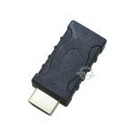 4k2k対応 HDMI中継アダプタ HDMI(オス)⇔HDMI(メス)  端子:金メッキ 端子保護や干渉防止など  デジパラ C74505 A-MF