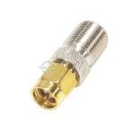 F端子(メス)⇔SMA(オス)変換アダプタ COMON FBS-SMA  Fコネクタねじ式 SMA端子とアンテナF接続 デジパラ C75632