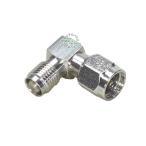 SMA直角アダプタ SMA(メス)⇔SMA(オス) ・COMON SMA-L・  SMA端子を直角に変換 デジパラ C75601