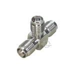 SMA T型アダプタ SMA端子(メス)⇔SMA端子(メス)x2  COMON SMA-T データ分配・2入力  デジパラ C75595