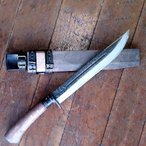 関兼常作 雷神狩猟刀匠 両刃 中 刃長:240mm CW32