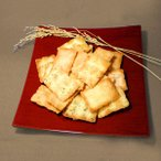 かき餅 田舎焼 大袋235g 素焼き おかき (白餅・海老・青海苔・金ごま・黒ごま) 辻茂