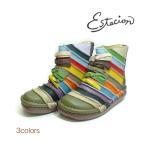 エスタシオン ショートブーツ リボンモチーフ  靴 送料無料 本革 No.TG0501