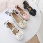 レディース ロリータ 靴 大きいサイズ リボン ゴスロリ 靴 厚底