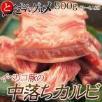其它 - イベリコ豚の中落ちカルビ(バラ) 500g ※冷凍  【冷凍同梱OK】