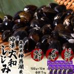 しじみ シジミ 蜆 島根県神西湖産 大和しじみ 大サイズ M 100g×10袋 貝 冷凍 冷凍同梱可能 送料無料