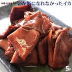 いか 訳あり 惣菜 北海道加工 いか飯になれなかったイカ 125g × 5パック 送料無料