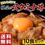 送料無料 秘伝の『スタミナ丼の具』 100g×10食セット ※冷凍 同梱不可