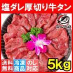 塩ダレ 厚切り 牛たん 牛タン 合計 5kg 500g×10パック 業務用 厚切り牛タン たん塩 仙台名物 焼肉 鉄板焼き ステーキ BBQ ギフト